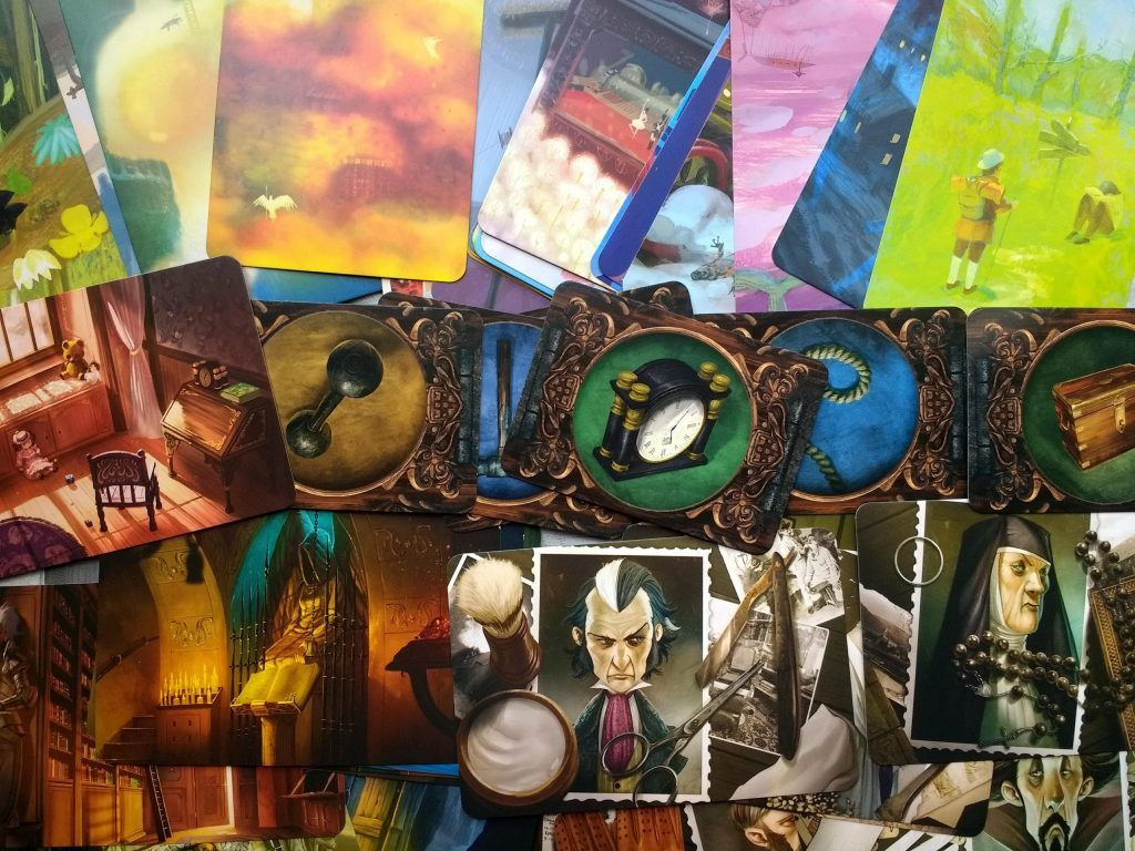 Mysterium Family Boardgame Review Board games, Mystery