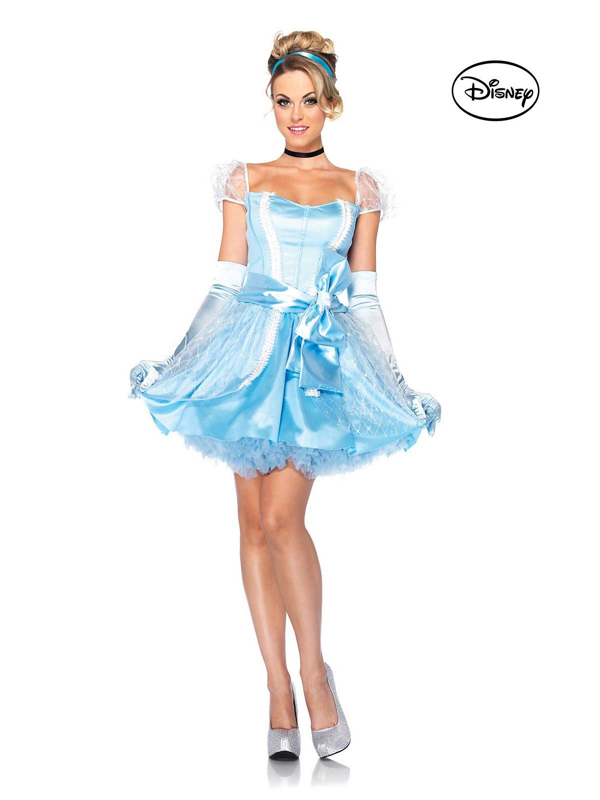 Home Custom Made New Design Adult Cinderella Princess Costumes Women Halloween Party Dress Cosplay Costumes