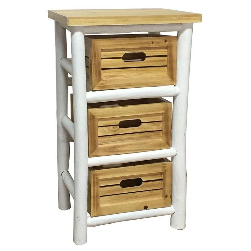 Wooden Drawer Bench - Drawers - Consoles - FURNITURE - inart