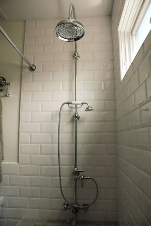 Exposed Pipe Shower ZoomWall Shower Set With Exposed Pipe Riser