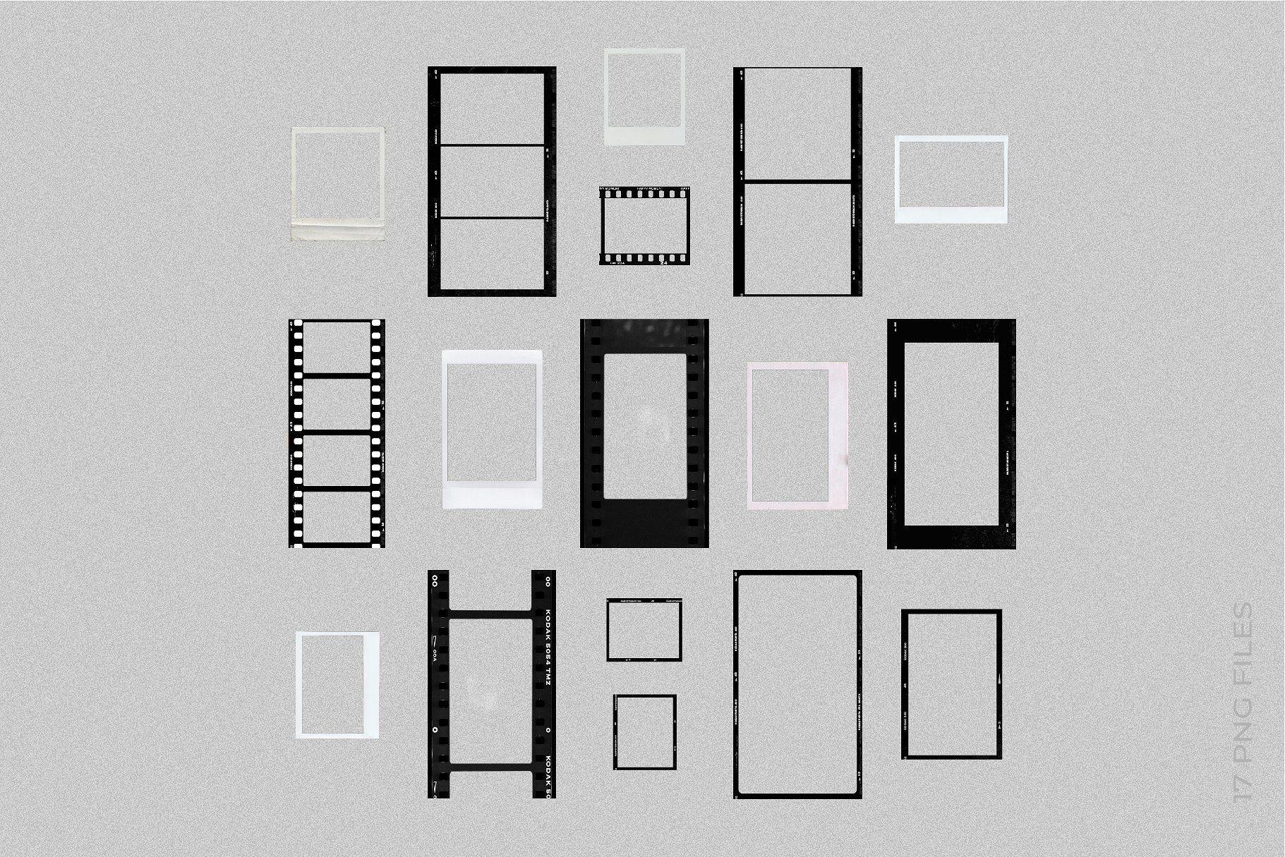 Film Frames & Polaroid Stories by RassvetDesign on