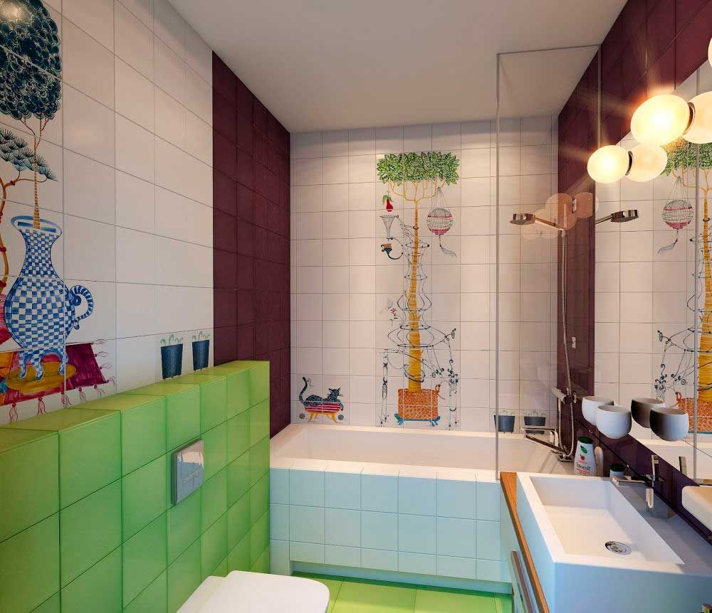 25 Cute And Colorful Kids Bathroom Ideas [Fun Design Solutions For Your  Home]   HOME CBF