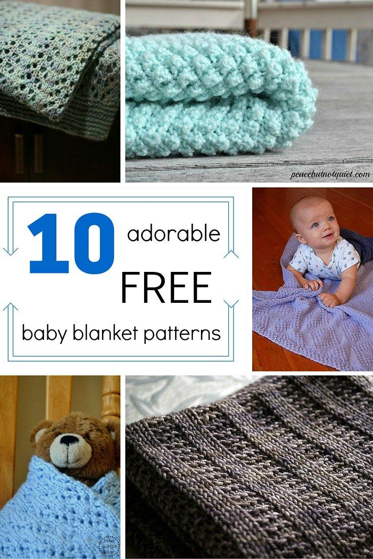 These easy knitting patterns make adorable baby shower gifts! | Easy ...