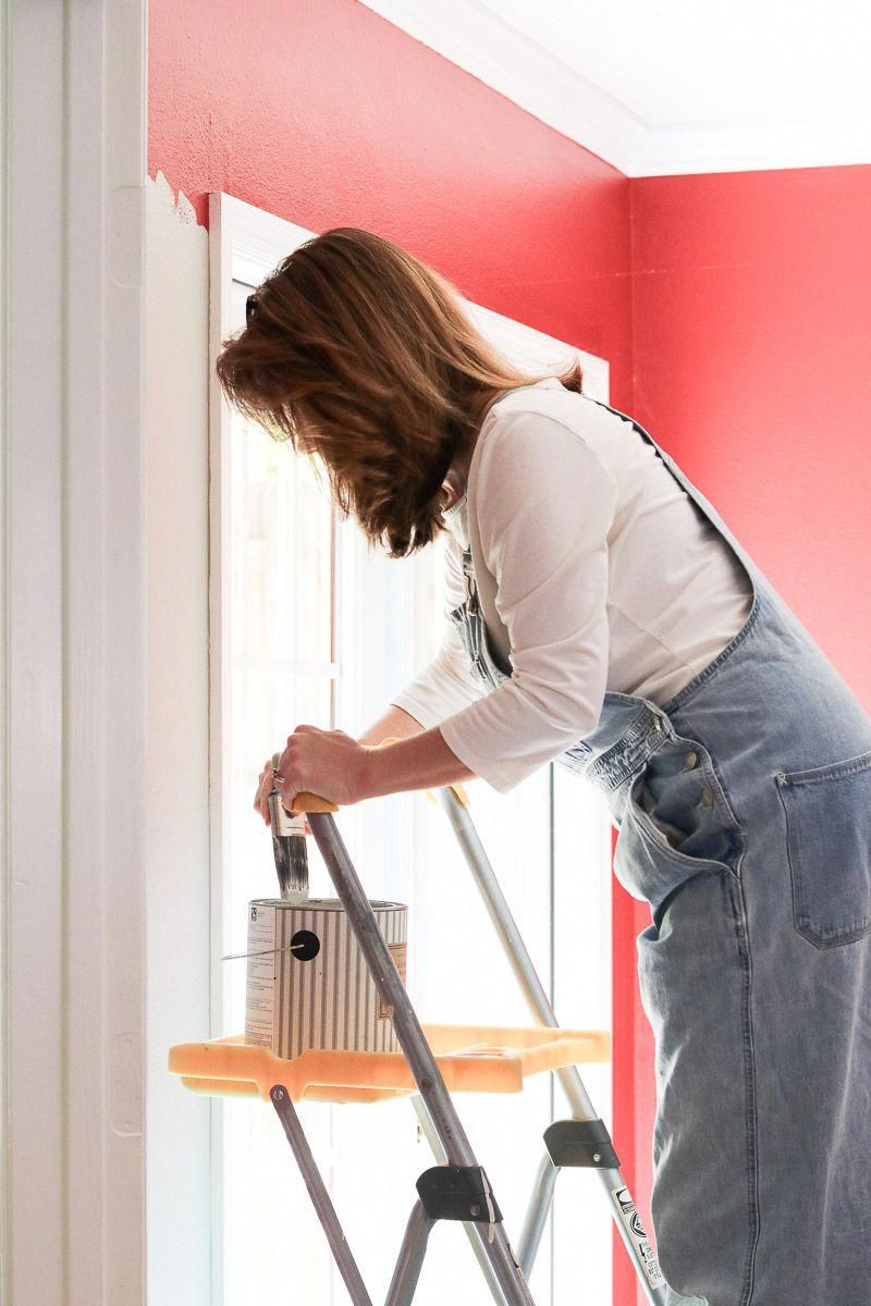 Steps To Paint A Room: Painting A Room Like A Pro. Changing The Color Of Our