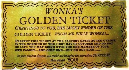 Ive got a golden ticket willy wonka pinterest golden ive got a golden ticket filmwisefo Images