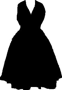 Vector Clip Art Online Royalty Free Public Domain Dress Clipart Fashion Clipart Dresses