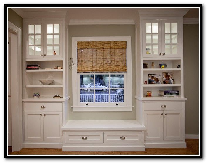 Diy Built In Bookcase Around Window Interiores Decoraci 243 N De Unas Casas