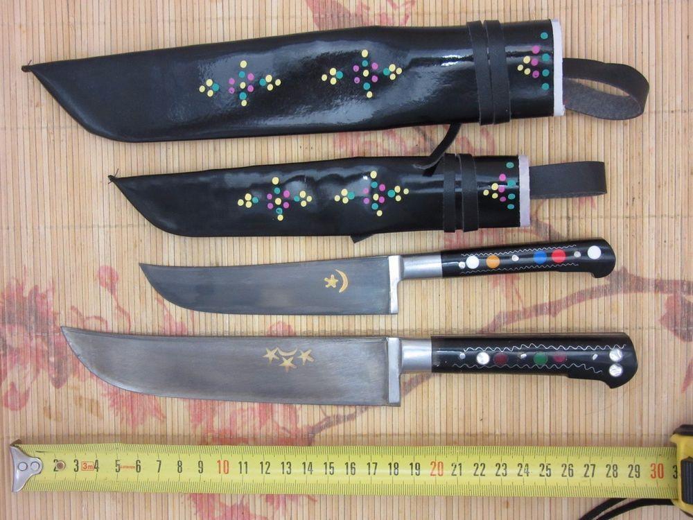 Knife Lot Pchak Uzbek Master Chef Kitchen Camping Tool + FREE SHIPPING