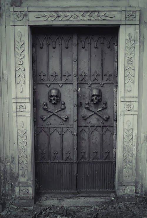 skull doors