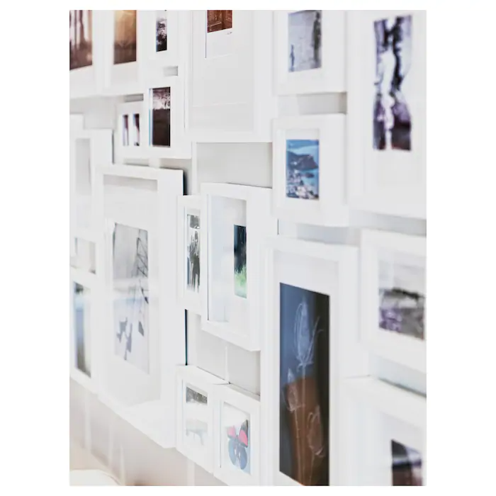 Ribba Frame White 9x9 Ikea In 2020 Ribba Frame White Frame A Frame Cabin
