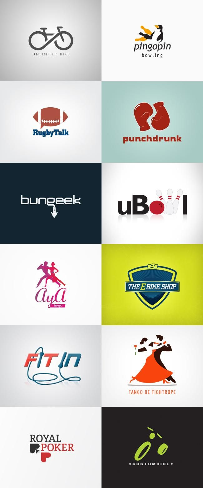grafiker.de - Logo-Inspiration: Sport | Corel draw | Pinterest ...