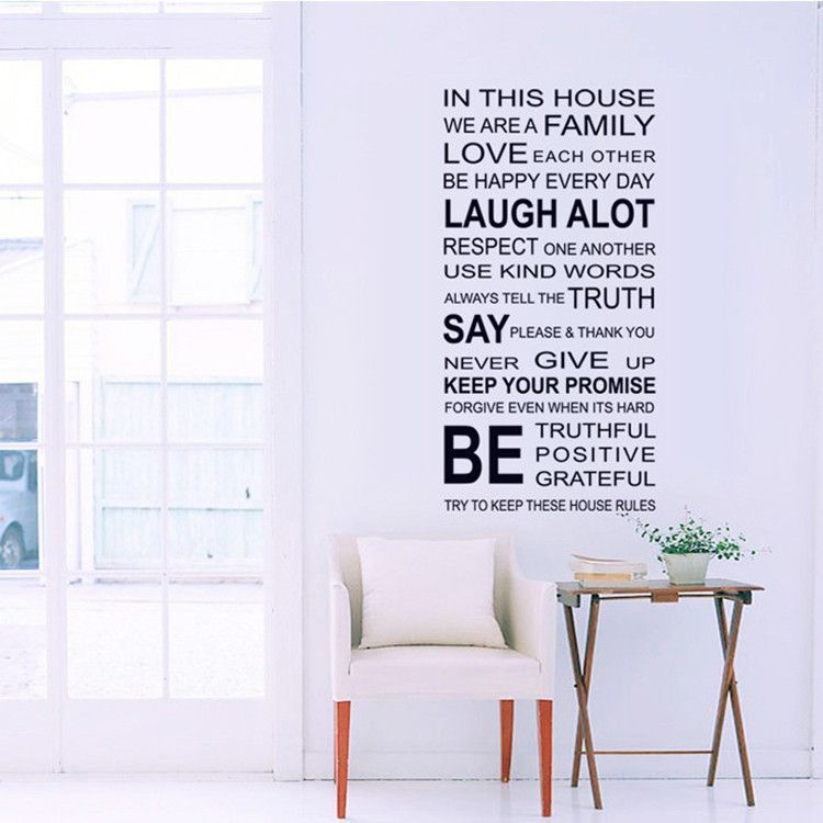 English letters 3d wallpaper creative self adhesive wall stickers windows glass doors cabinet stickers murals