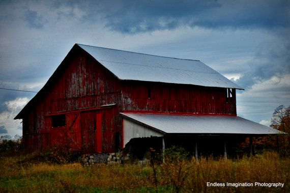 Old Barn in Northern Michigan   Old barn, Imagination ...