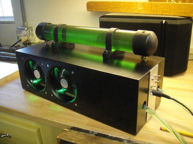 Computer Liquid Cooling With Car Parts Computer Diy Computer