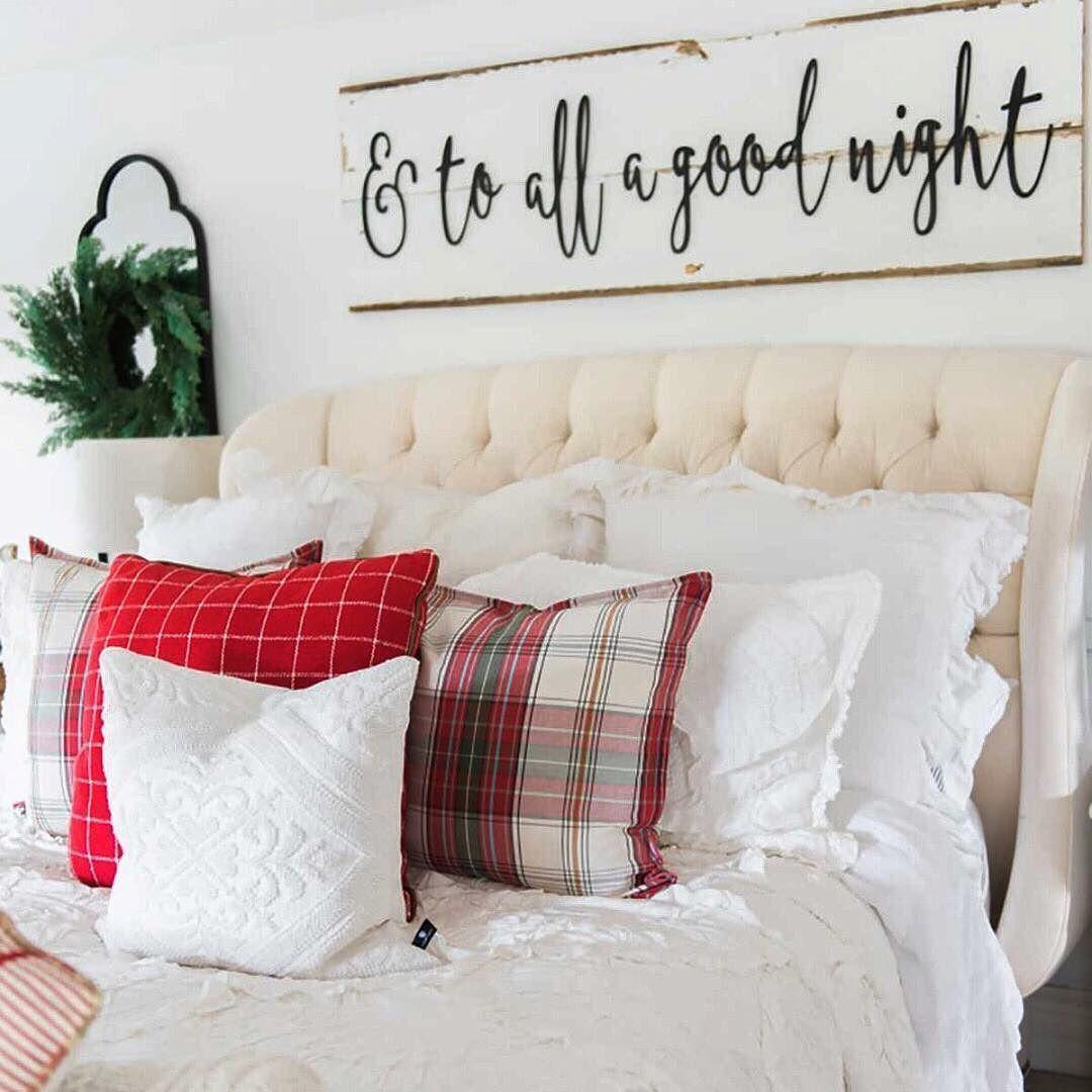 Suite dreams! @lizmariegalavan sure knows how to make a home warm and cozy! [Link in bio to shop] #bedroom @HolidayDecor #interiordesign #diyhomedecor