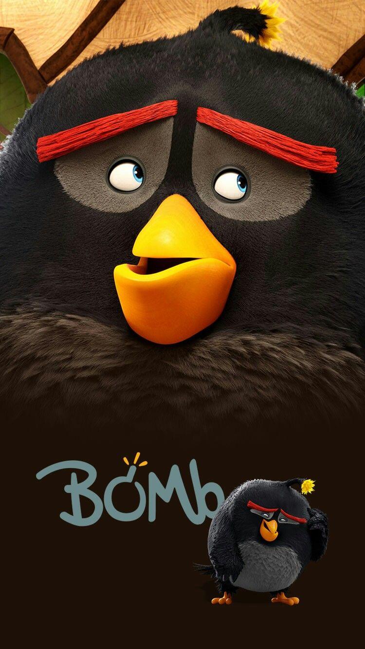 Black Bomb Bird Desenhos Animados Desenhos Angry Birds