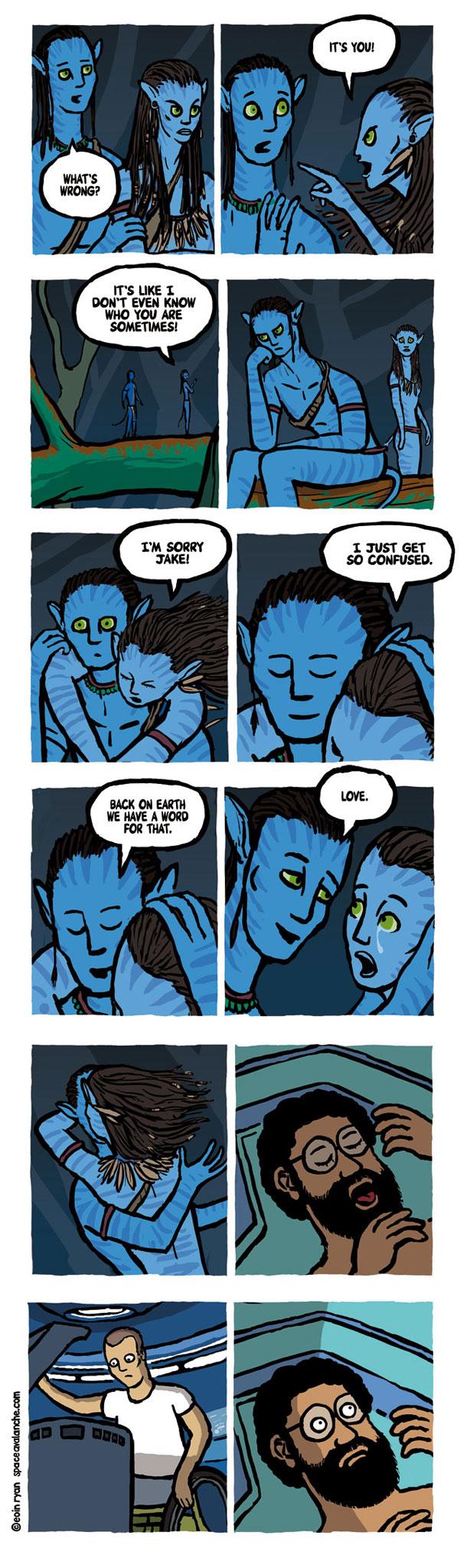 Avatar extended sex scene
