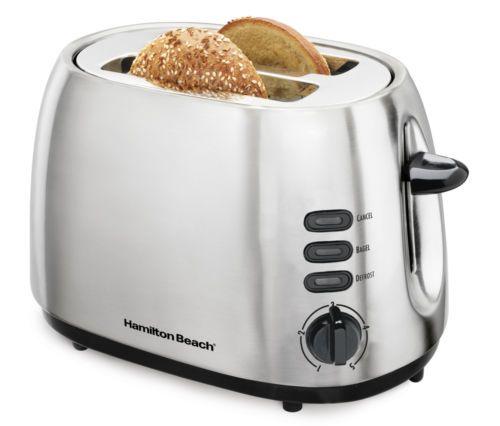 Hamilton Beach 2 Slice Bagel Toaster