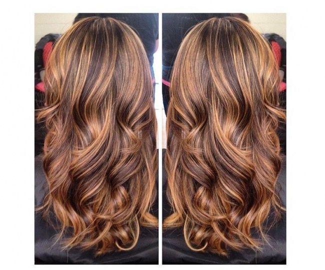 Szerokie Pasemka To Jeden Z Trendów W Koloryzacji Włosów 2015 Jasne