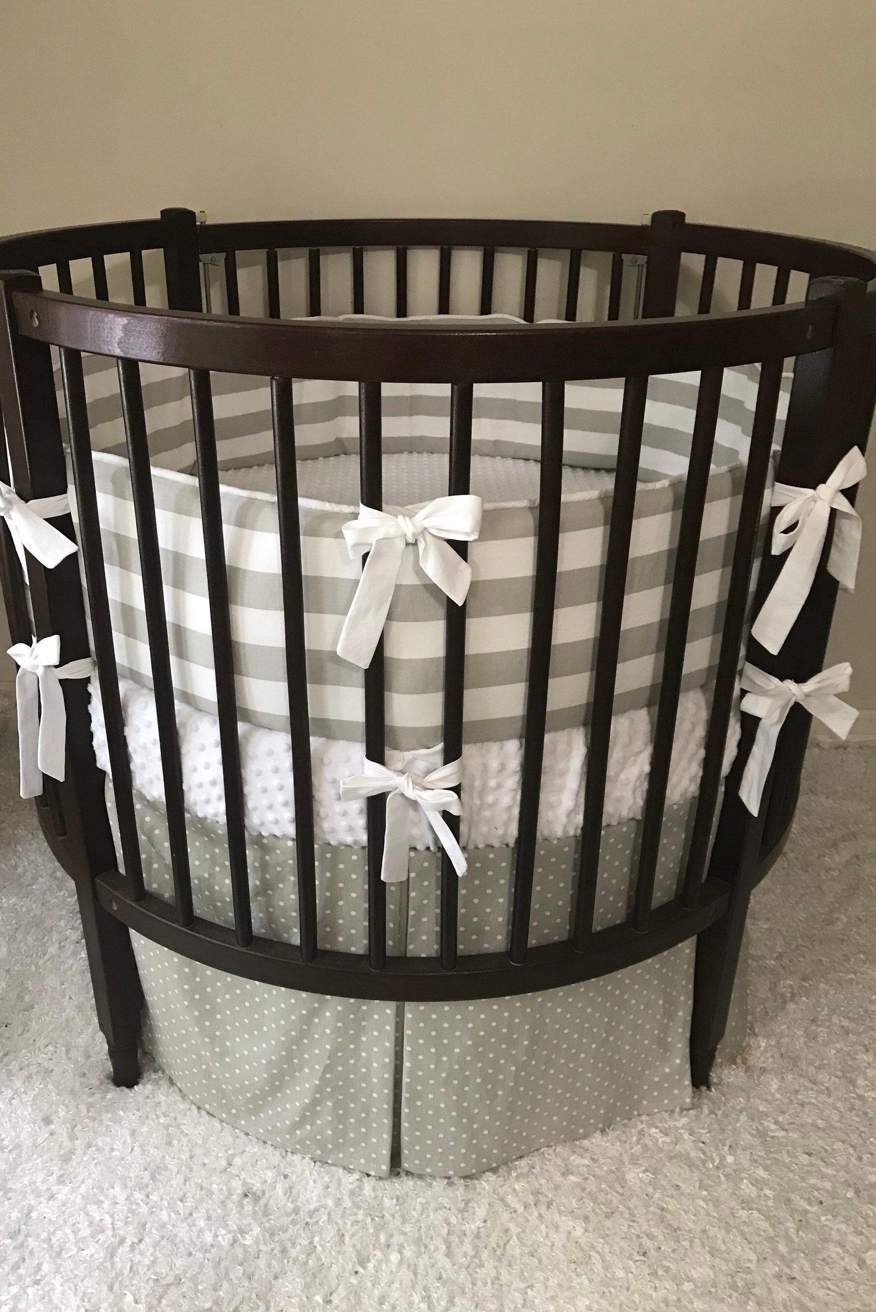 Baby Girl Crib Set Baby Boy Crib Set Round Crib Bedding French