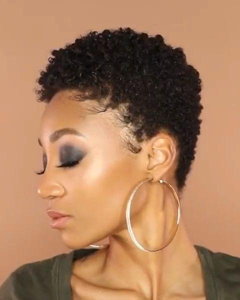 Define curls for short hair