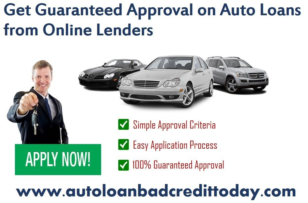We Offers Guaranteed Approval On Auto Loans With Simple Approval Criteria Easy Application Process Car Loans Car Finance Credit History