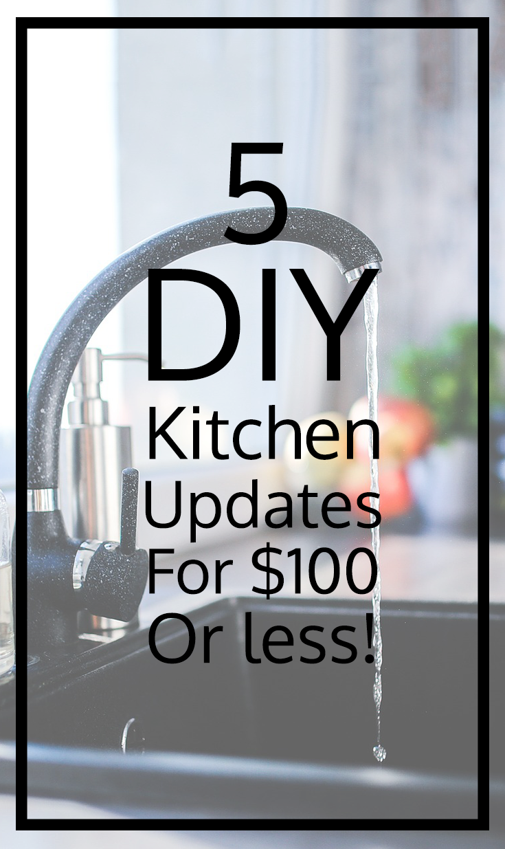 Kitchen updates you can do yourself with 100 or less tips kitchen updates you can do yourself with 100 or less solutioingenieria Images