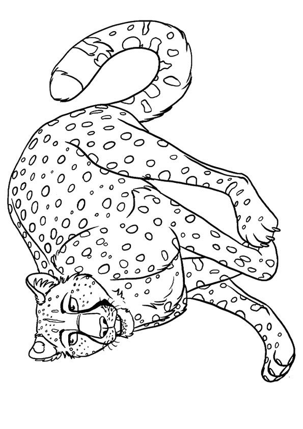 25 Best Cheetah Coloring Pages For Your Little Ones Coloring Pages Coloring Pages To Print Coloring Pages For Kids
