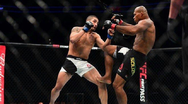 A featherweight bout between former UFC Bantamweight