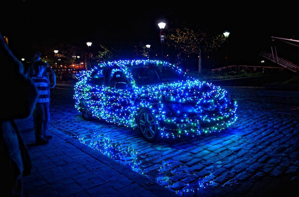 Ultimate holiday light display on car | Christmas Cars | Pinterest ...