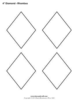 40+ Diamond shape clipart black and white ideas