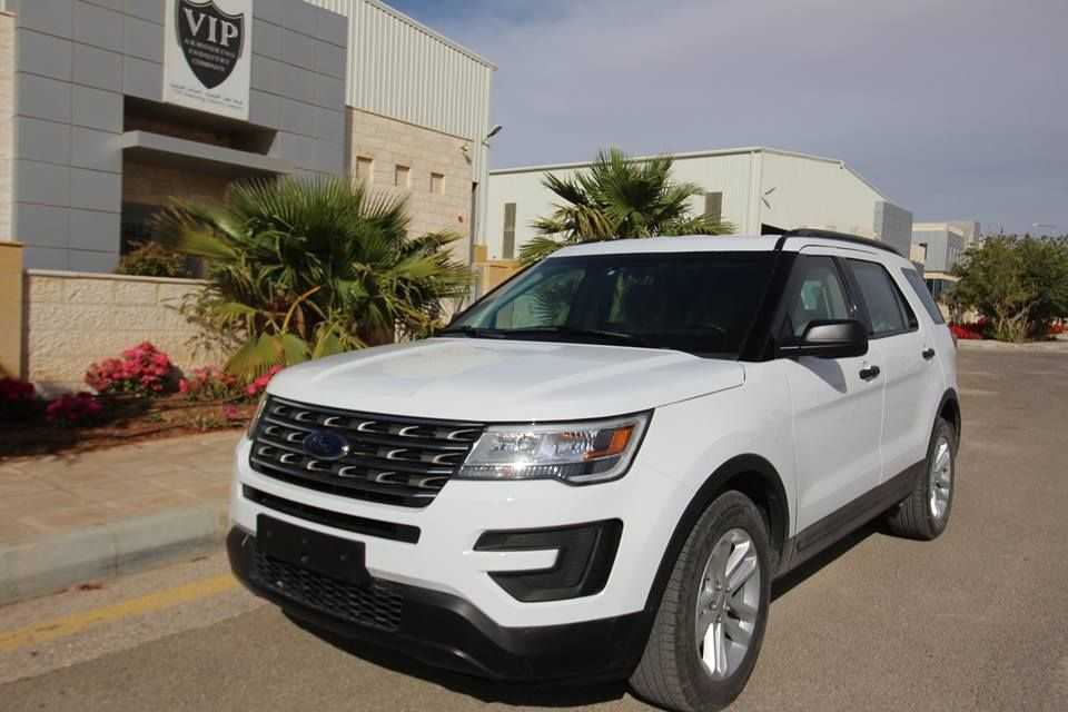 B6 Armoured Vehicle Vip New Bulletproof Car 2018 Ford Explorer