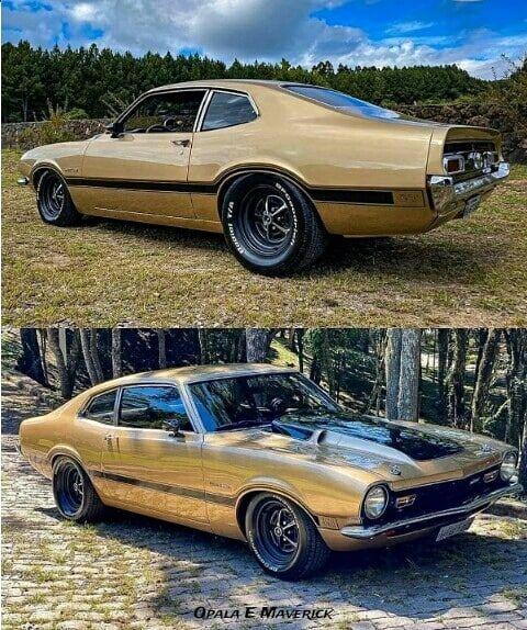 Nao Fique So Olhando Siga Opala E Maverick E Marque Os Amigos Ford Maverick 1978 Motor V8 351 Do Mustang Cambio In 2020 Ford Maverick Mustang Ii Muscle Cars