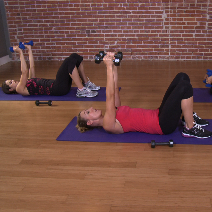 Tone Your Arms With This 10-Minute Arm Workout...my arms are burning. wow