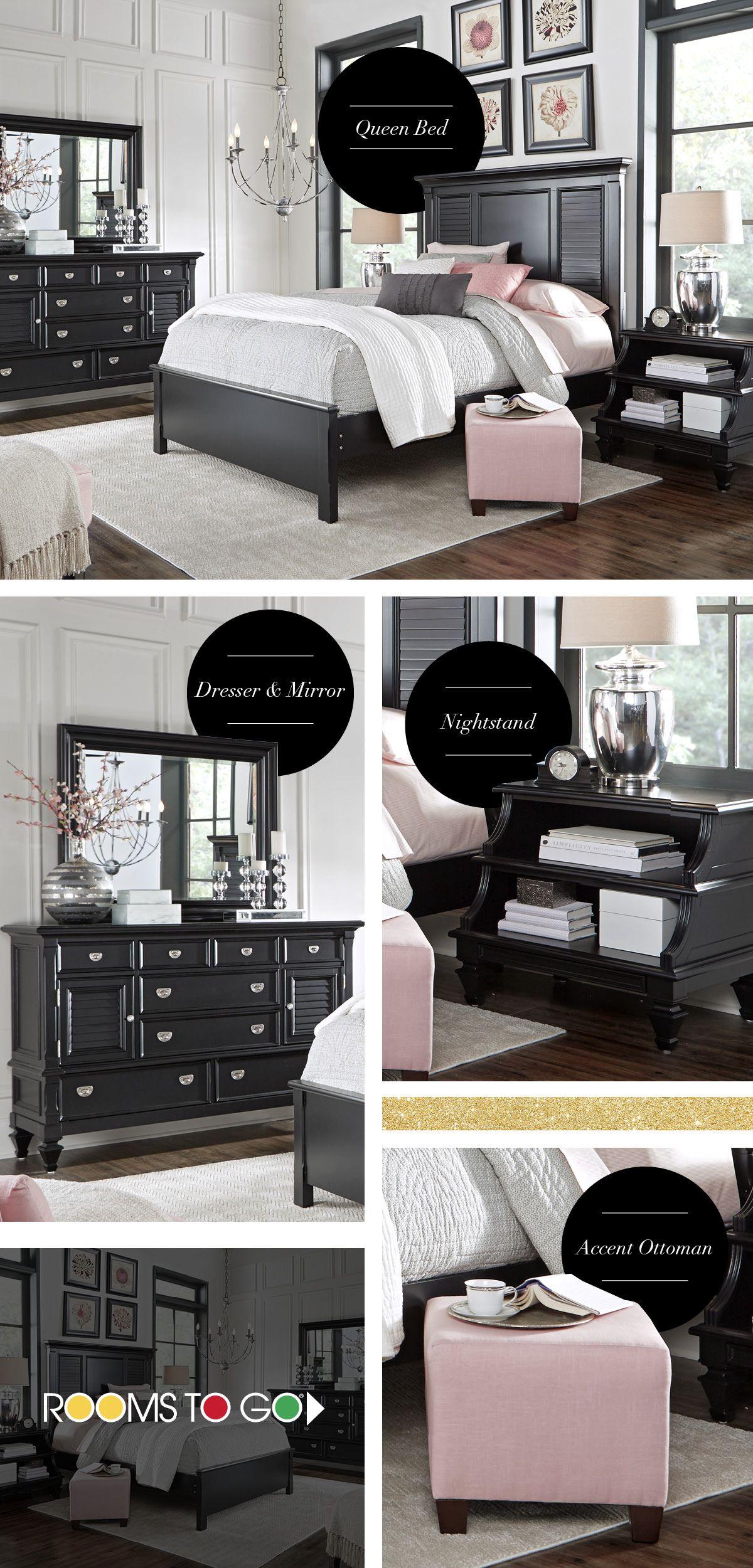 Belmar Black 5 Pc Queen Bedroom With Images