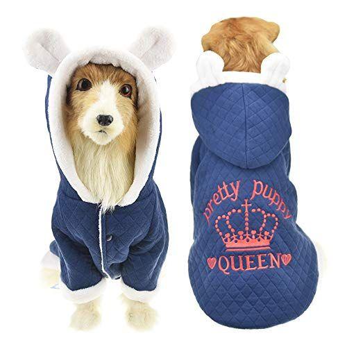 Muyaopet Cute Ears Winter Jacket Coat Large Dog Labrador Golden