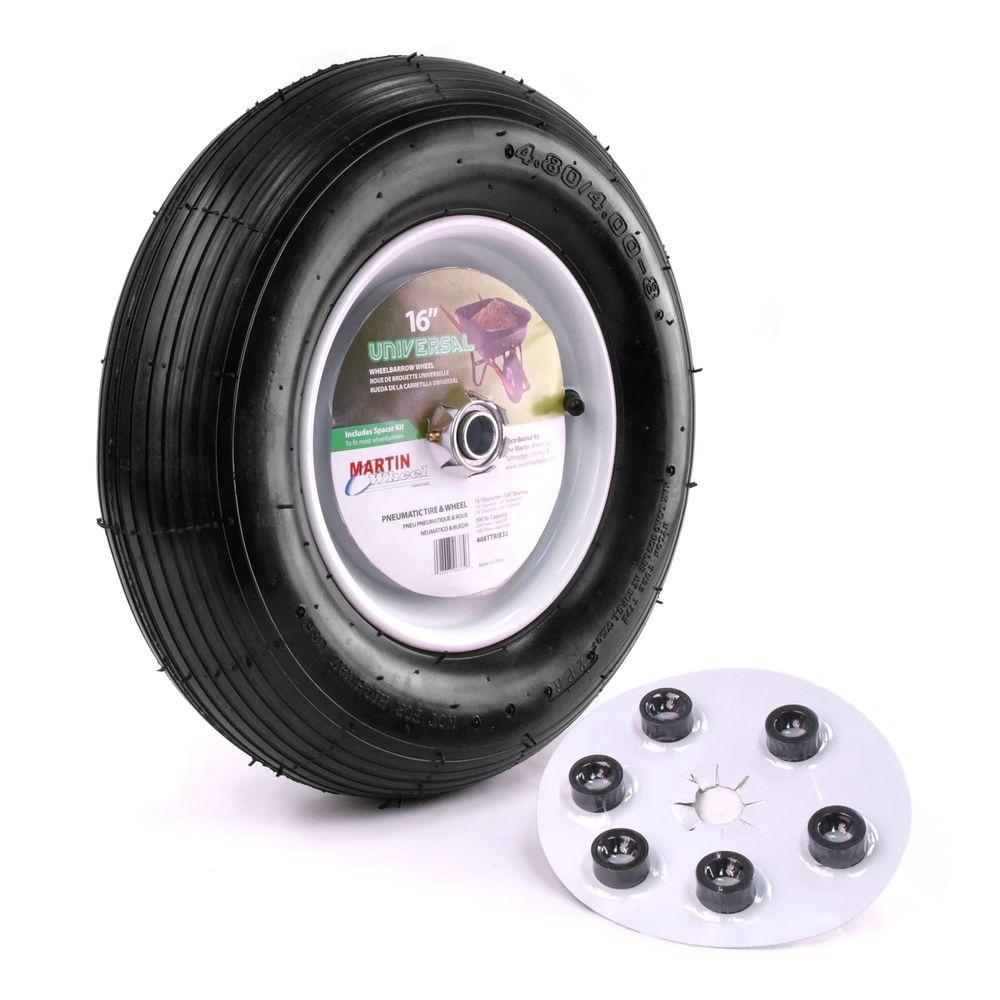 Martin Wheel 480 400 8 16 In Wheelbarrow Garden Cart Wheel With