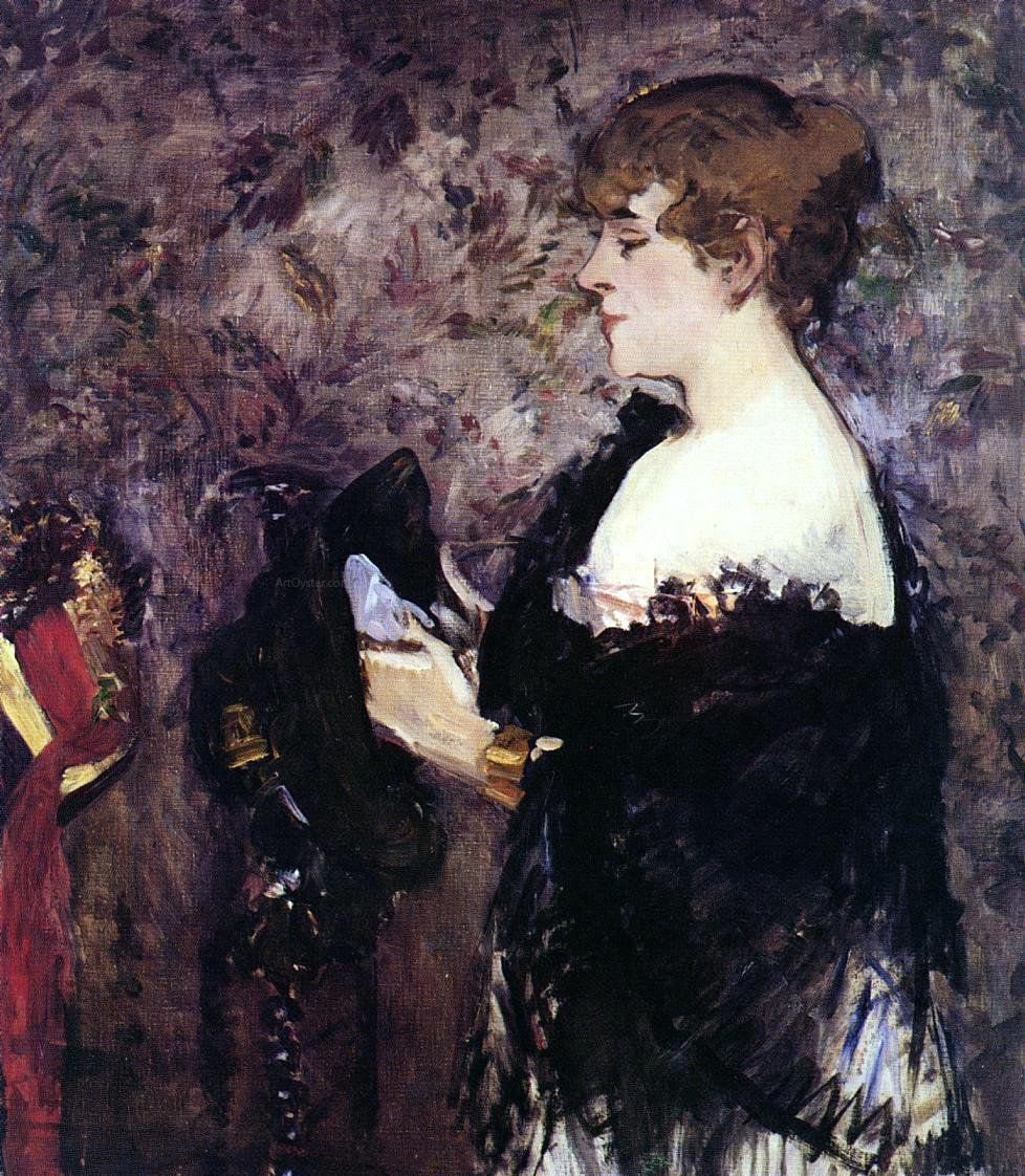 The Milliner By Edouard Manet Hand Painted Oil Painting With