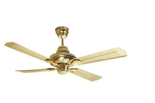 Havells Florence 2 Tone 1200mm Ceiling Fan Nickel Gold Amazon In Home Kitchen Ceiling Fan Fan Price Black Ceiling Fan