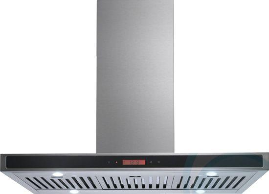 Euromaid Icf9bls 90cm Island Rangehood Appliances Online Appliances Online Canopy Design Stainless Steel Hood