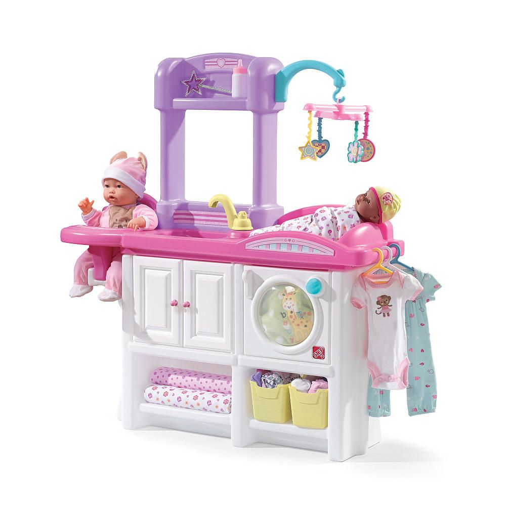 The Love Amp Care Deluxe Nursery Video Baby Doll Nursery