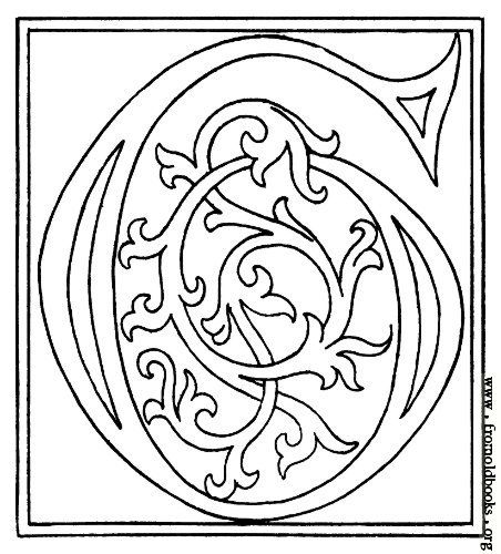 [Picture: clipart: initial letter G from late 15th century