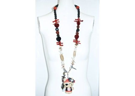 Kitt Katt Pirate Necklace #Kittka #Pirate #Necklaces #dolls