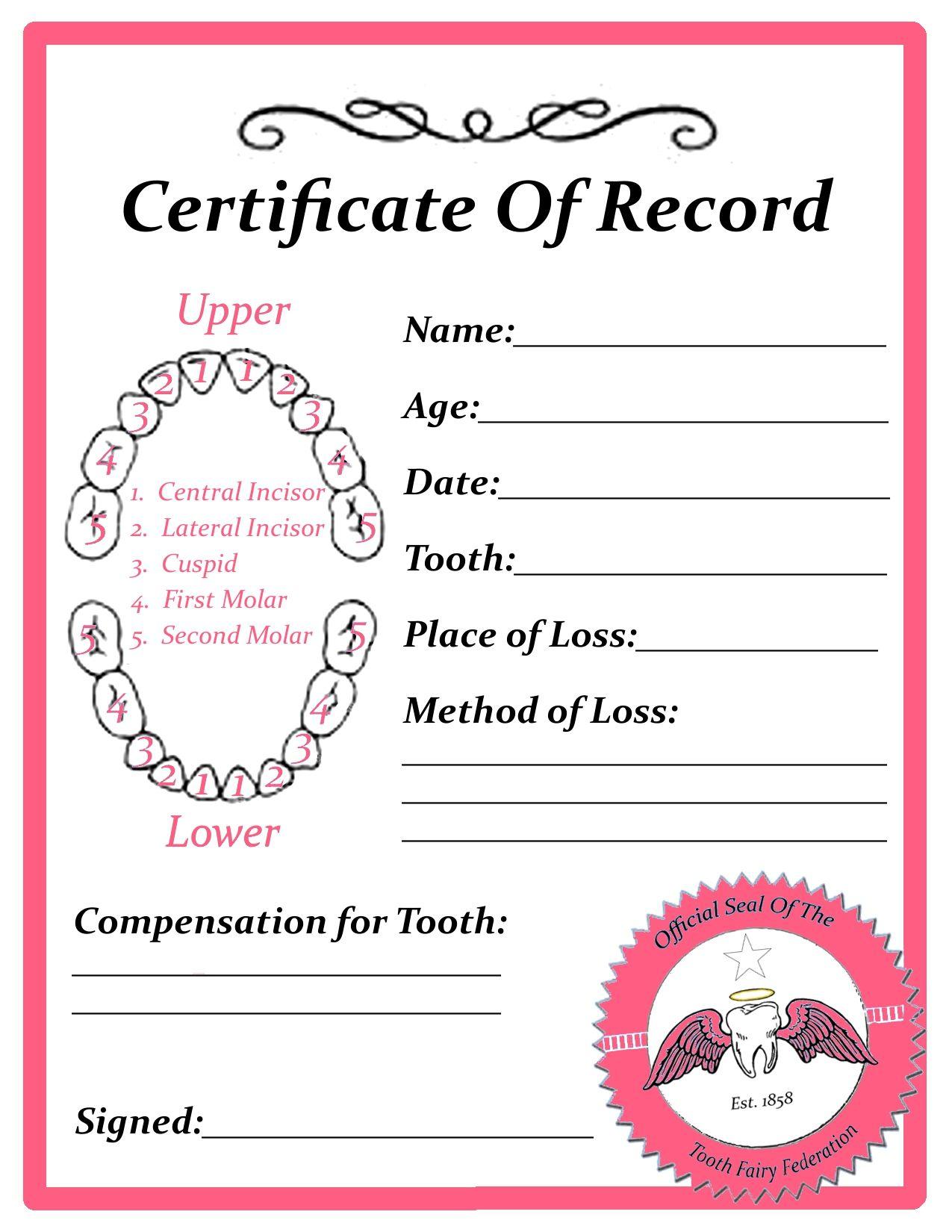 Free Printable Kids Teeth Care Chart