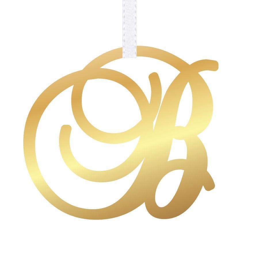 Single Initial Monogram Ornament | Initials, Monograms and Ornament