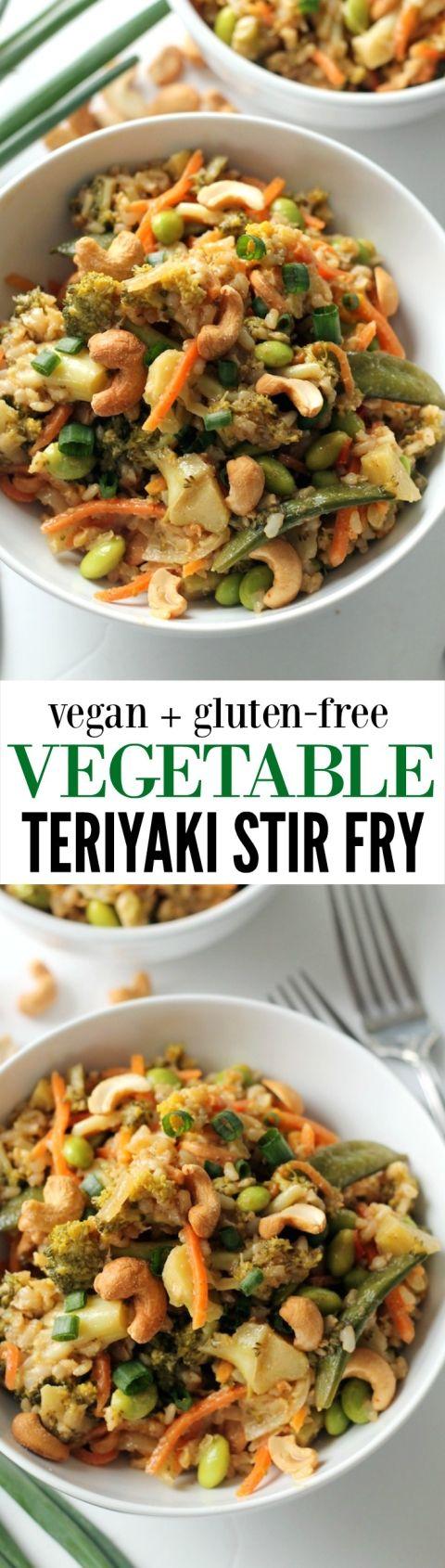 Easy vegetable teriyaki stir fry recipe asian inspired for Cucinare edamame