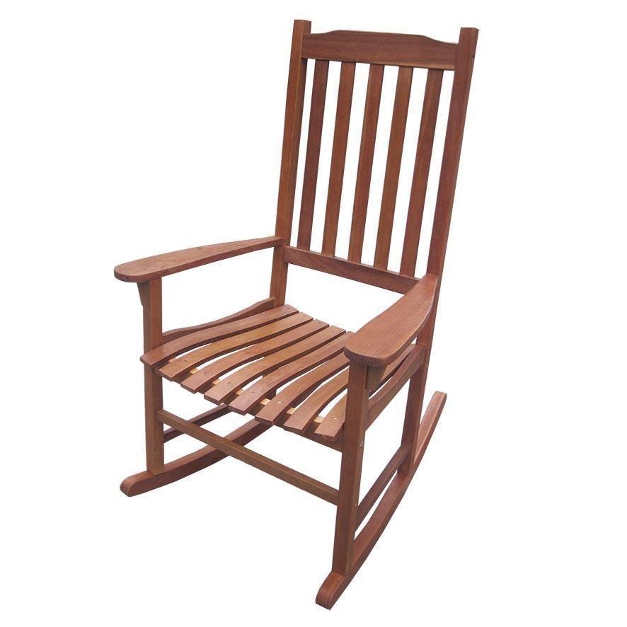 Statford Indoor Outdoor Acacia Rocking Chair In Teak Sillas Mesedoras De Madera Muebles De Teca Sillon De Madera