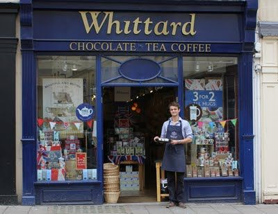 Whittard of Chelsea' shop in Bath  The company was founded in 1886