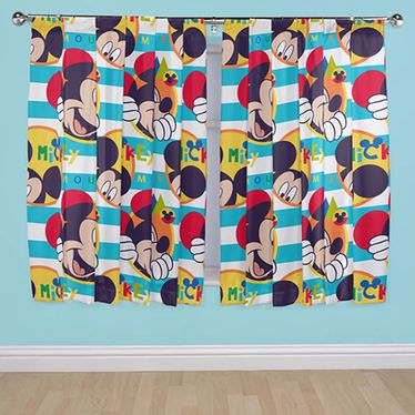 Pin by Kris Smith on Minnie | Mickey mouse curtains, Mickey ...