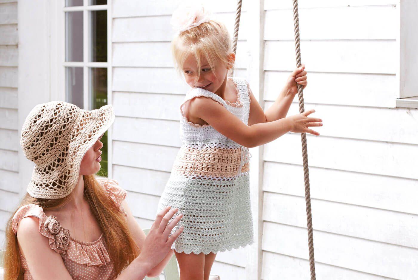 Gehäkelte Mädchen Tunika | Kinderkleidung, Mädchen und